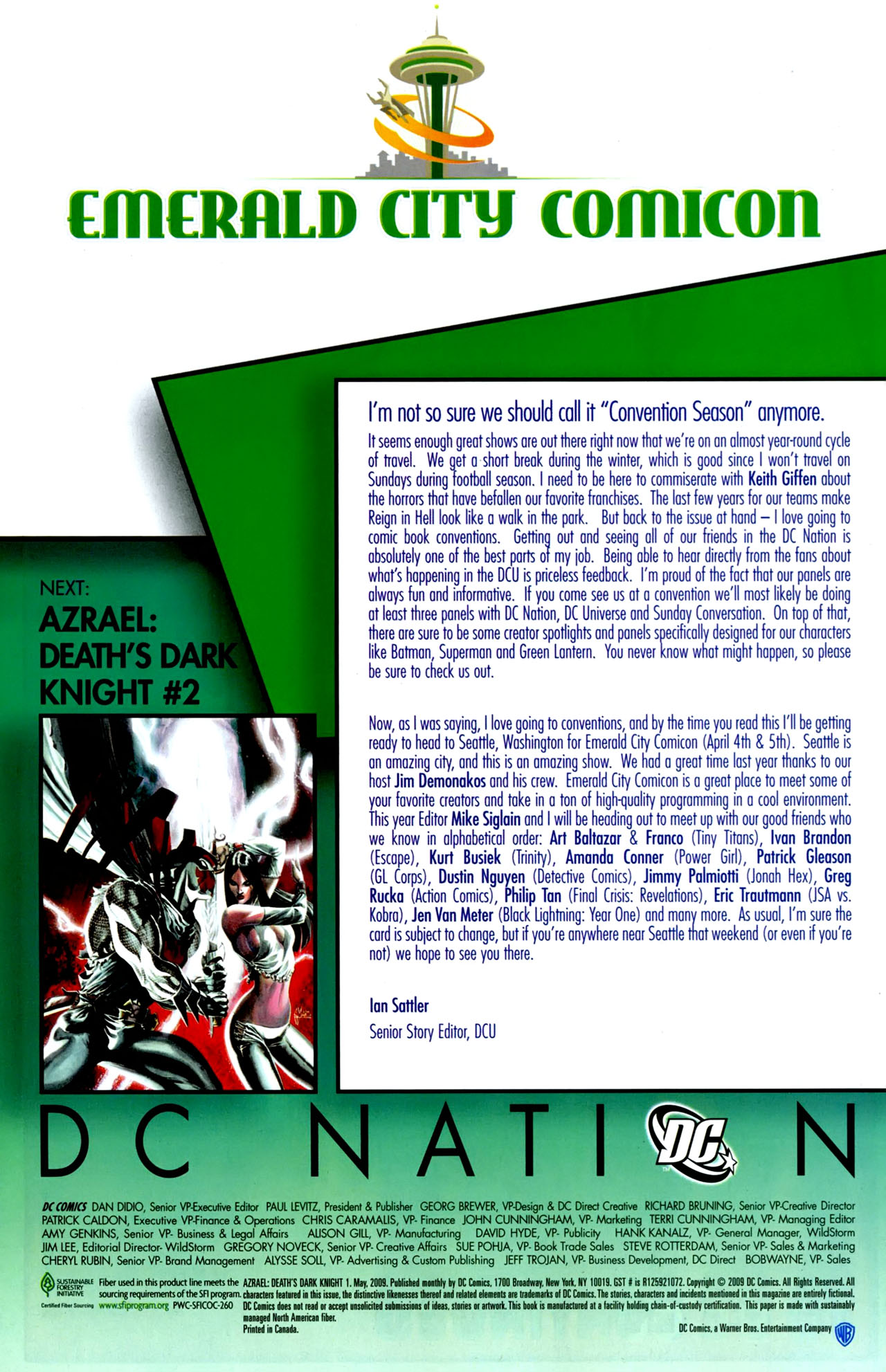 Read online Azrael: Death's Dark Knight comic -  Issue #1 - 29