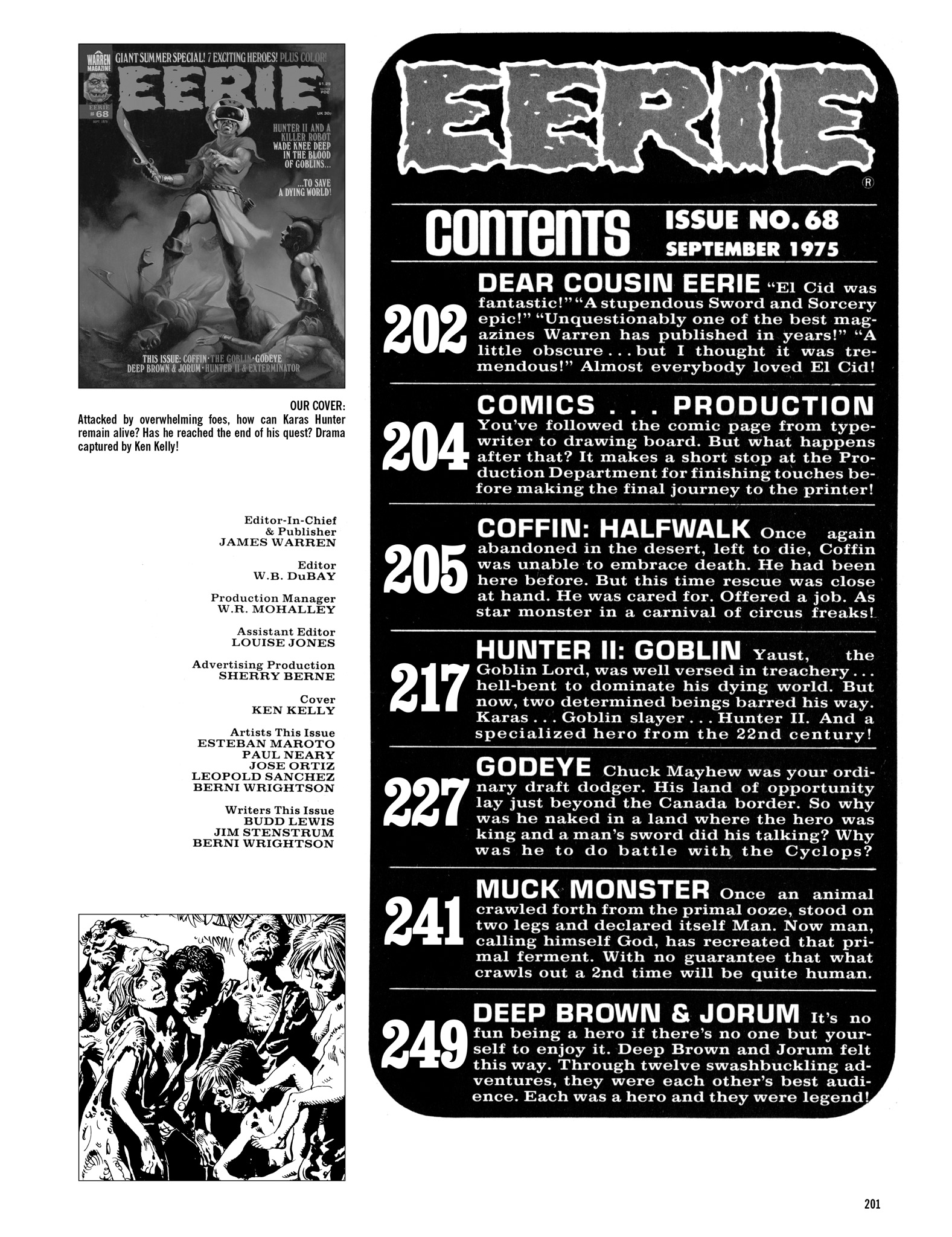Read online Eerie Archives comic -  Issue # TPB 14 - 202