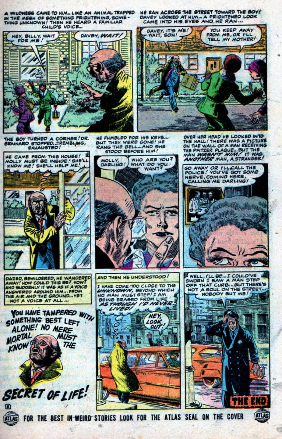 Read online Adventures into Weird Worlds comic -  Issue #27 - 8