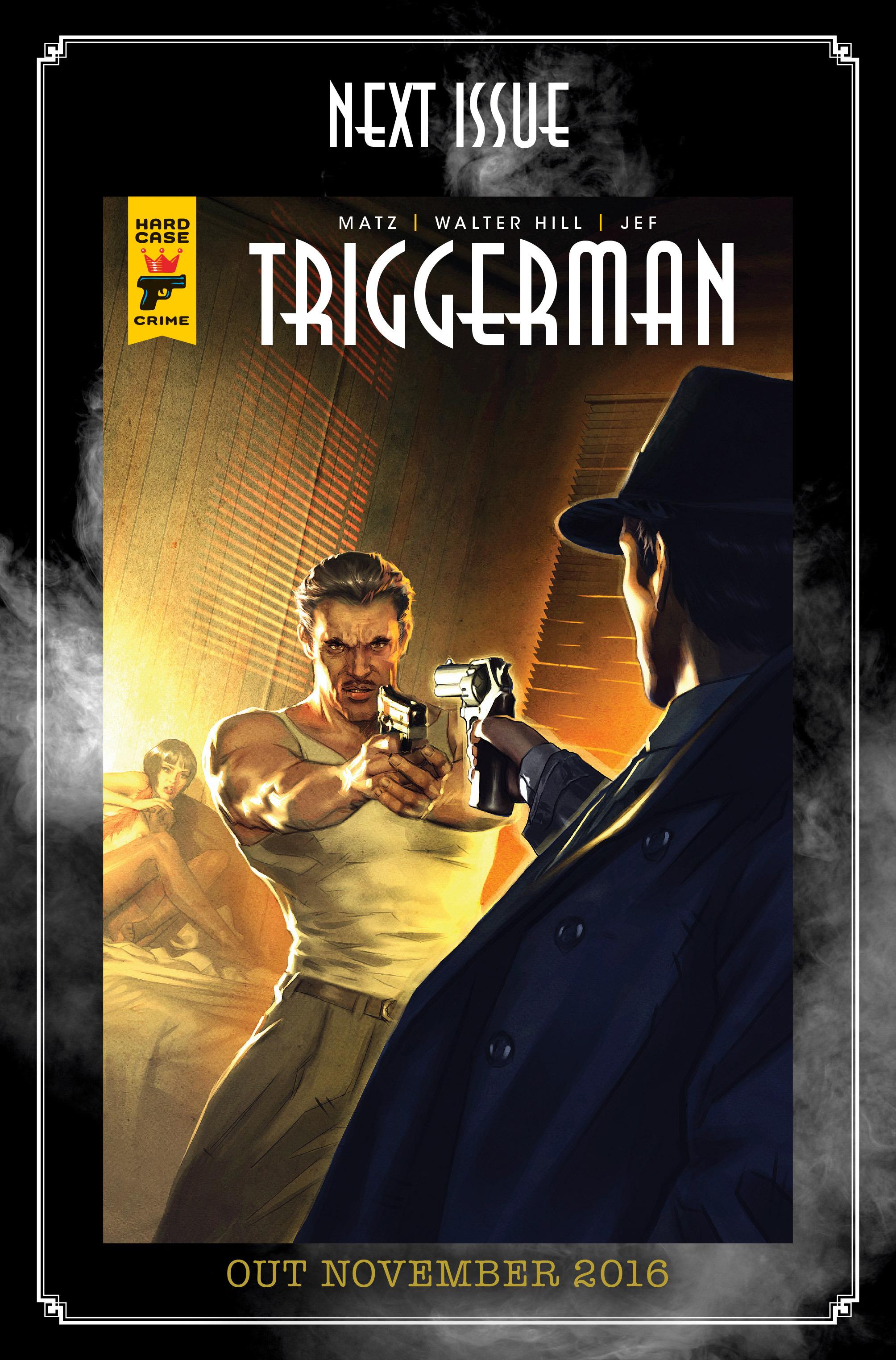 Read online Triggerman comic -  Issue #1 - 33