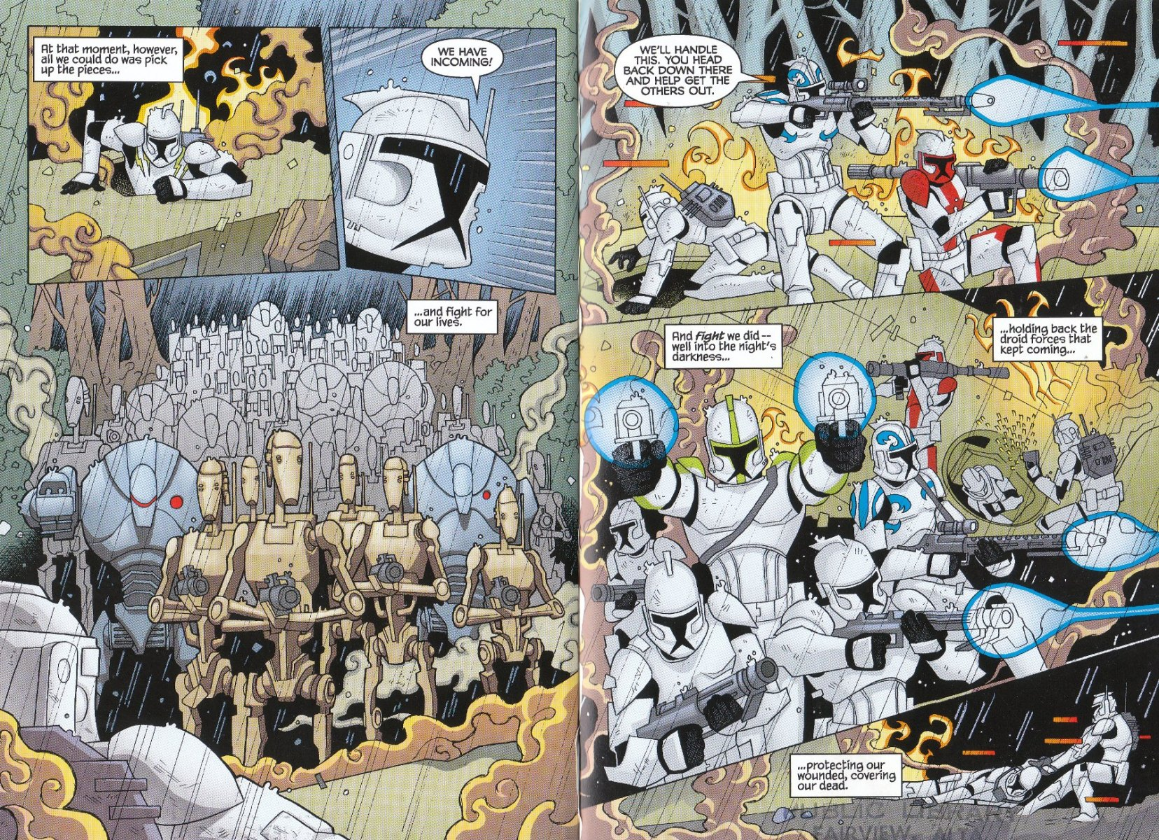 Read online Star Wars: The Clone Wars - The Enemy Within comic -  Issue # Full - 10