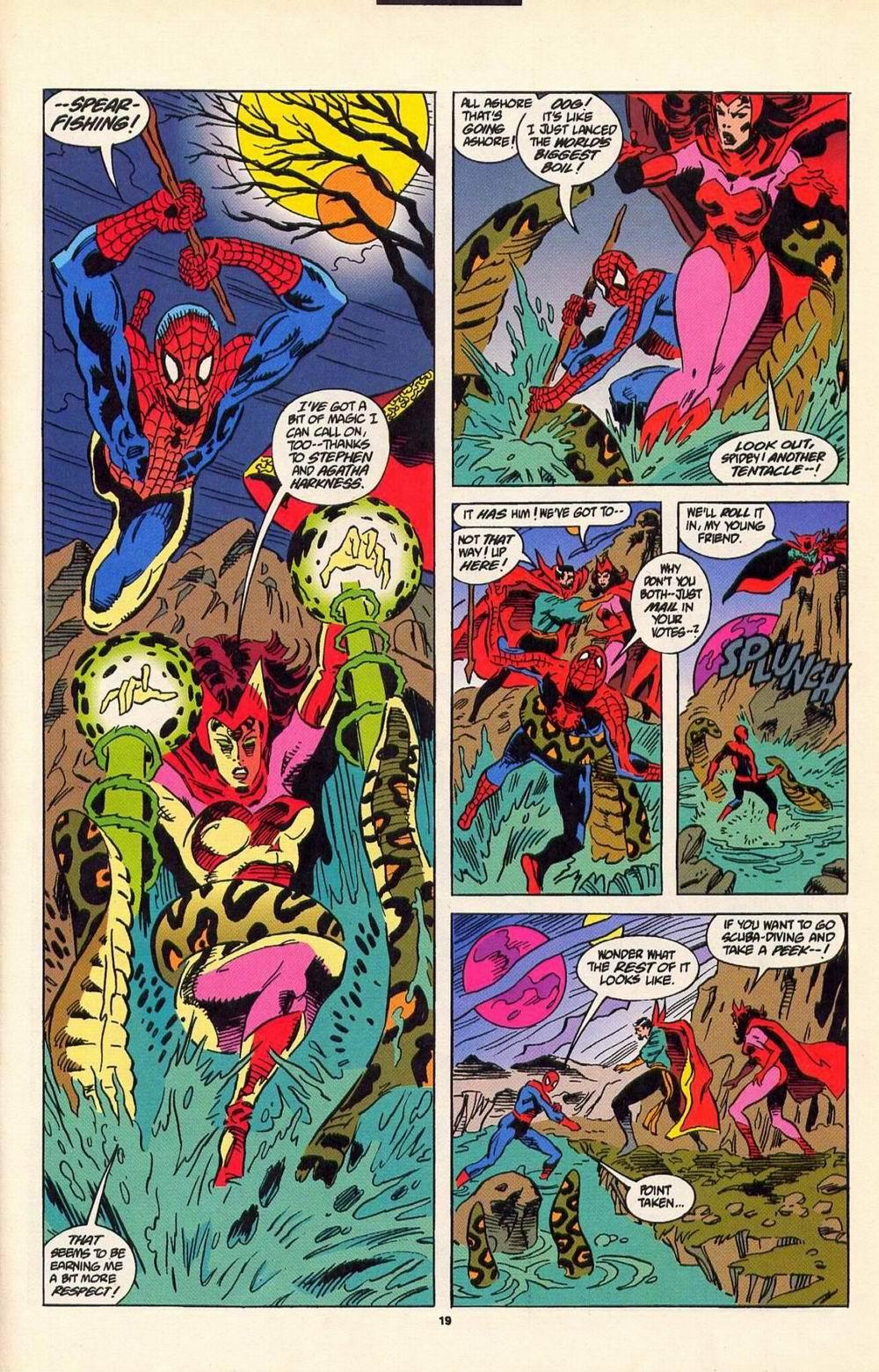 Read online Secret Defenders comic -  Issue #7 - 14