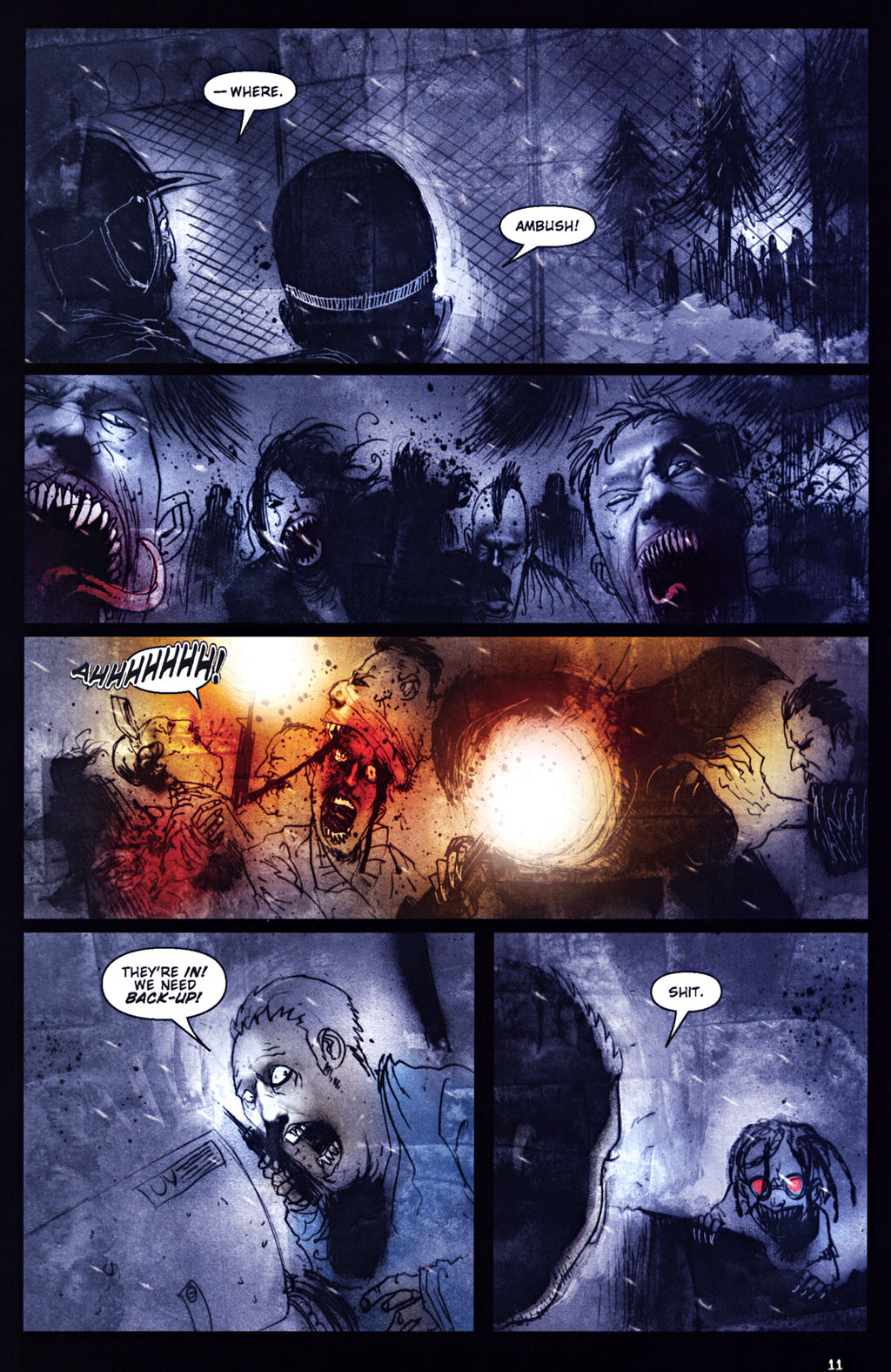 Read online 30 Days of Night: Return to Barrow comic -  Issue #5 - 12