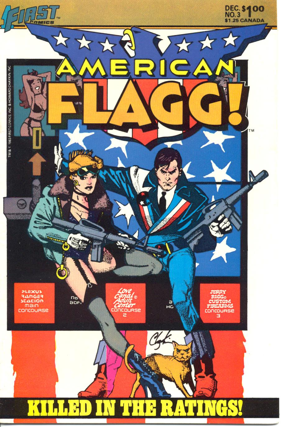 Read online American Flagg! comic -  Issue #3 - 1