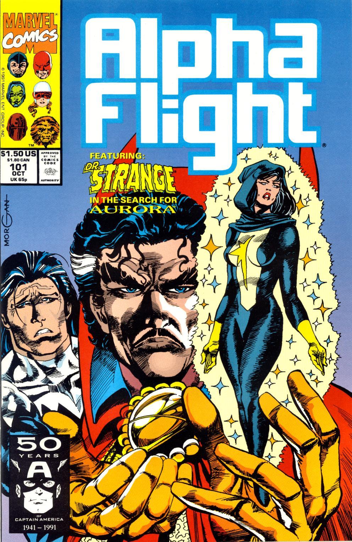 Read online Alpha Flight (1983) comic -  Issue #101 - 1