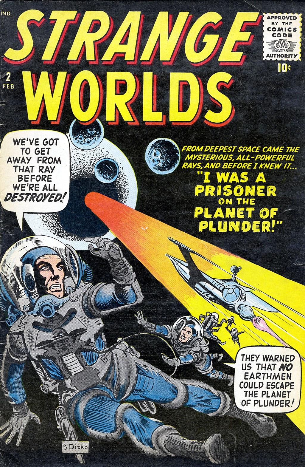 Strange Worlds issue 2 - Page 1