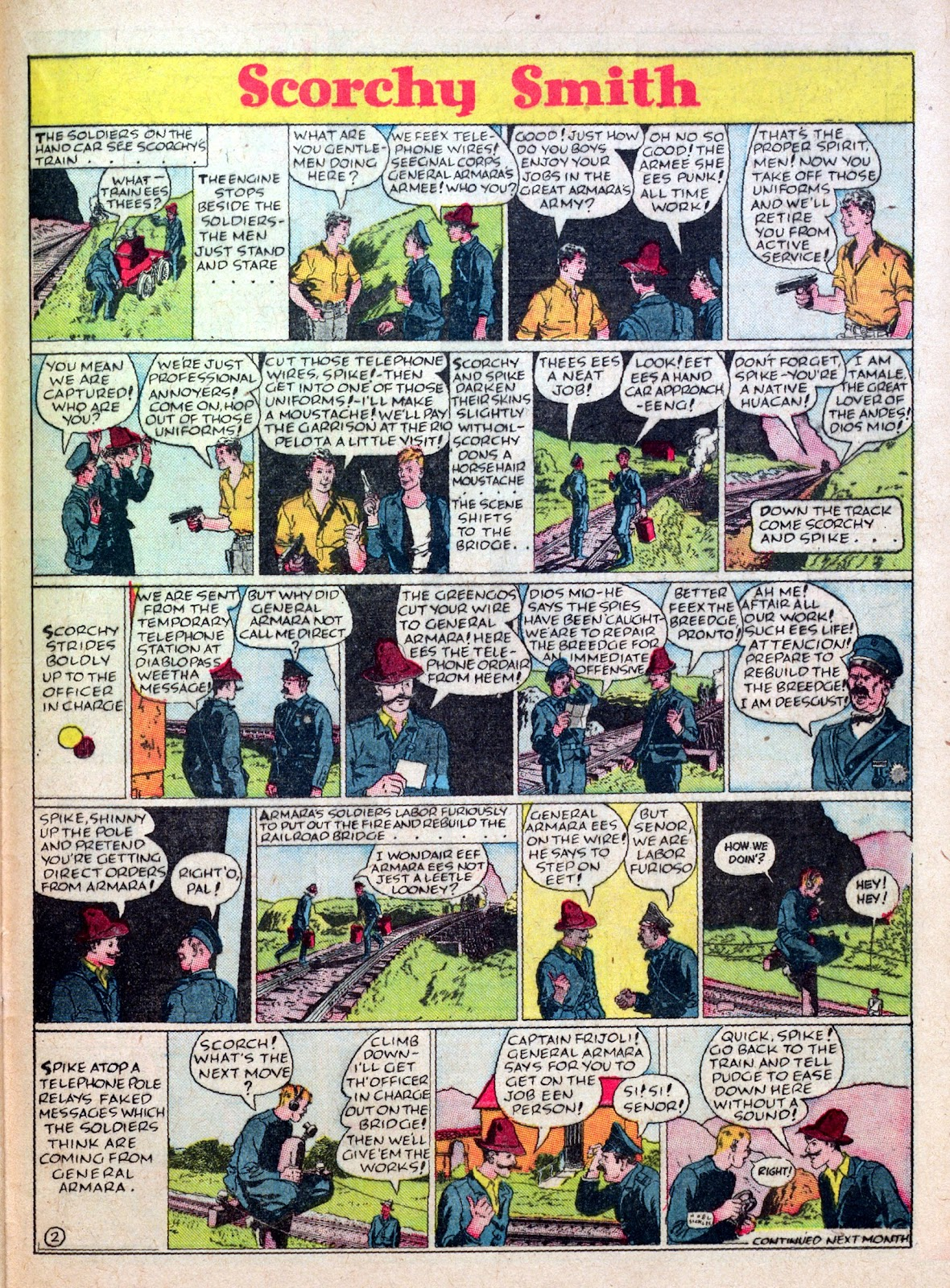 Read online Famous Funnies comic -  Issue #45 - 47