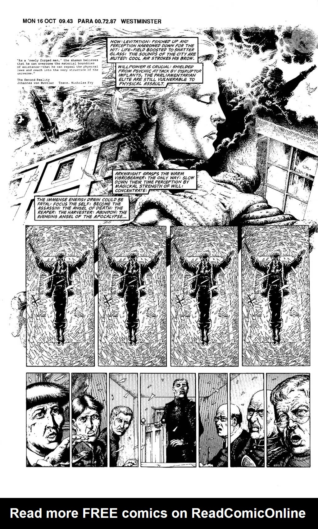 Read online The Adventures of Luther Arkwright comic -  Issue #8 - 4