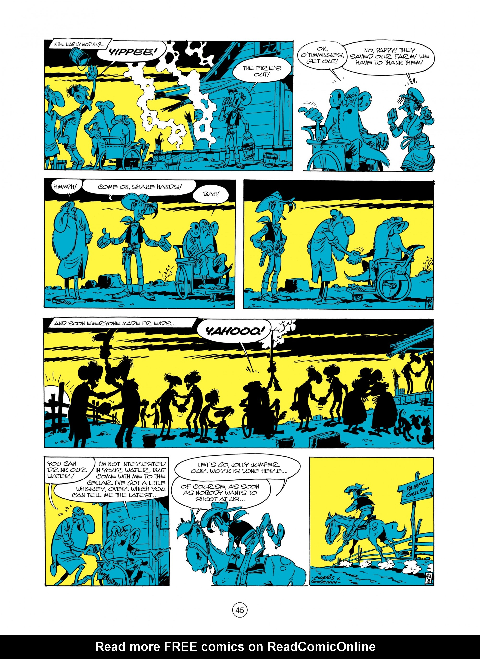 Read online A Lucky Luke Adventure comic -  Issue #12 - 45