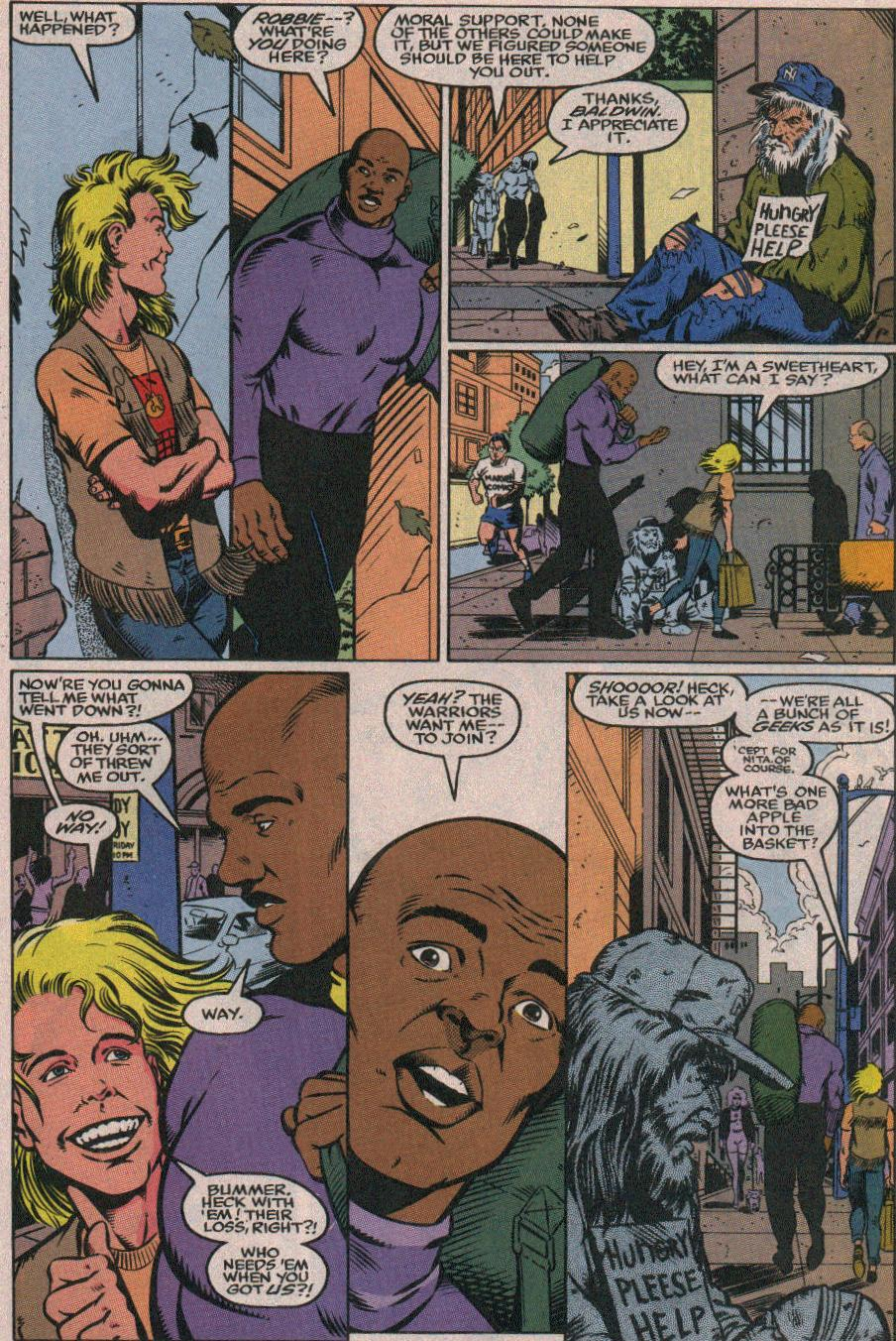 The New Warriors Issue #26 #30 - English 10