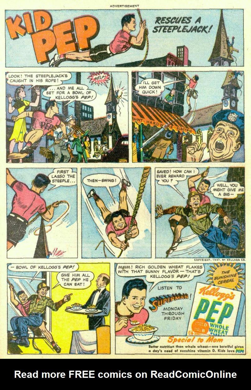 Read online Sensation (Mystery) Comics comic -  Issue #67 - 23