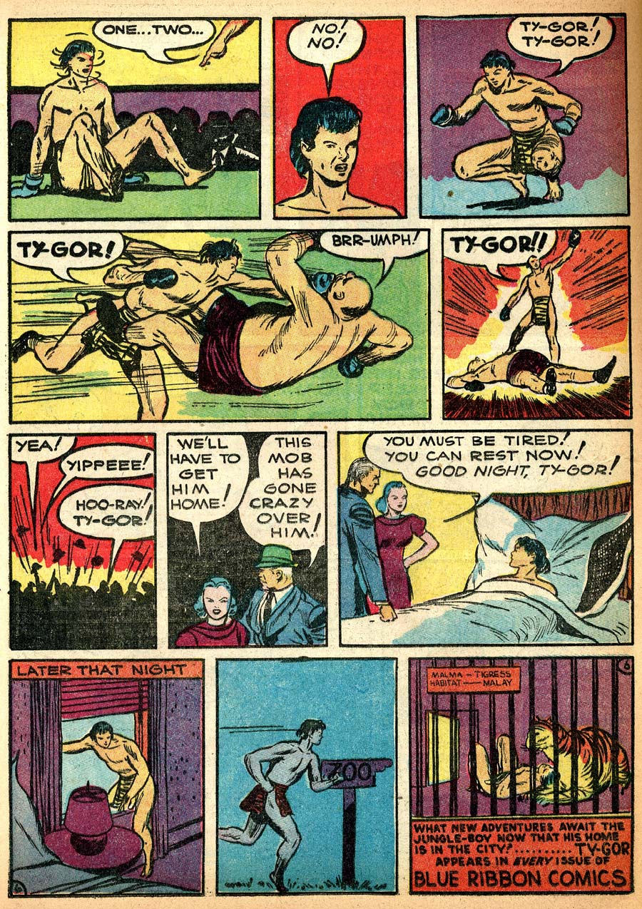 Blue Ribbon Comics (1939) issue 8 - Page 48