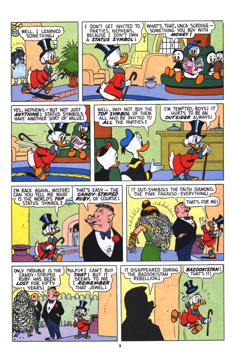 Read online Uncle Scrooge (1953) comic -  Issue #256 - 4