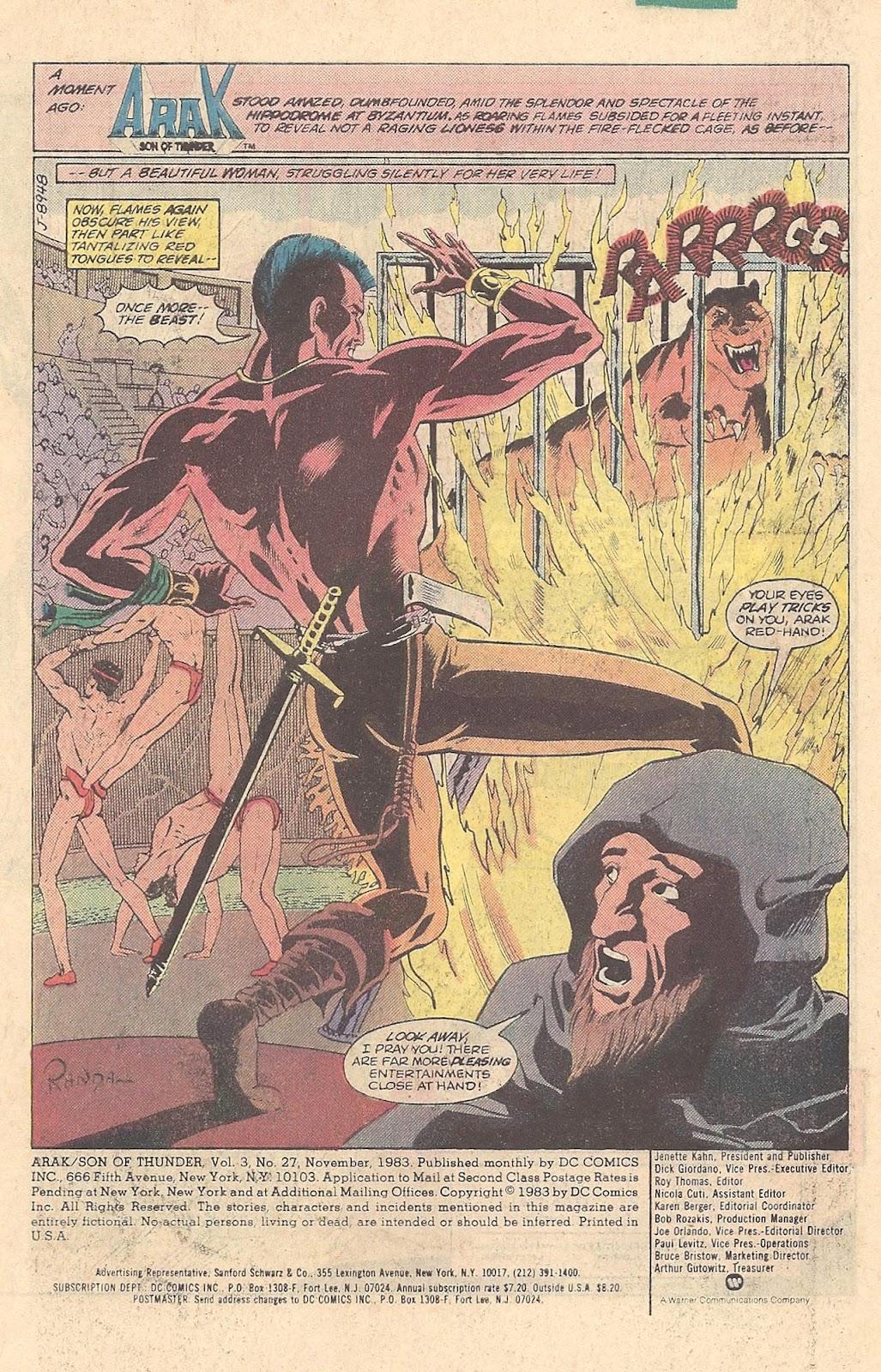 Arak Son of Thunder 27 Page 3