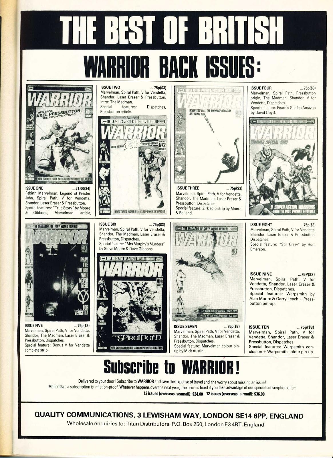 Warrior Issue #12 #13 - English 51