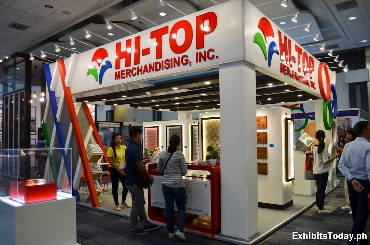 Hi-Top Merchandising Tradeshow Display