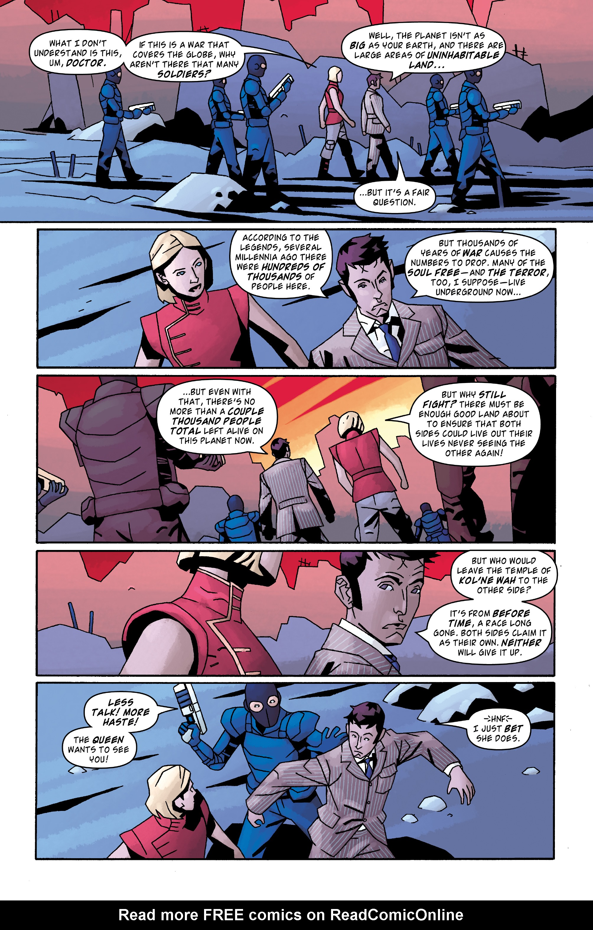 Read online Doctor Who: The Tenth Doctor Archives comic -  Issue #31 - 24