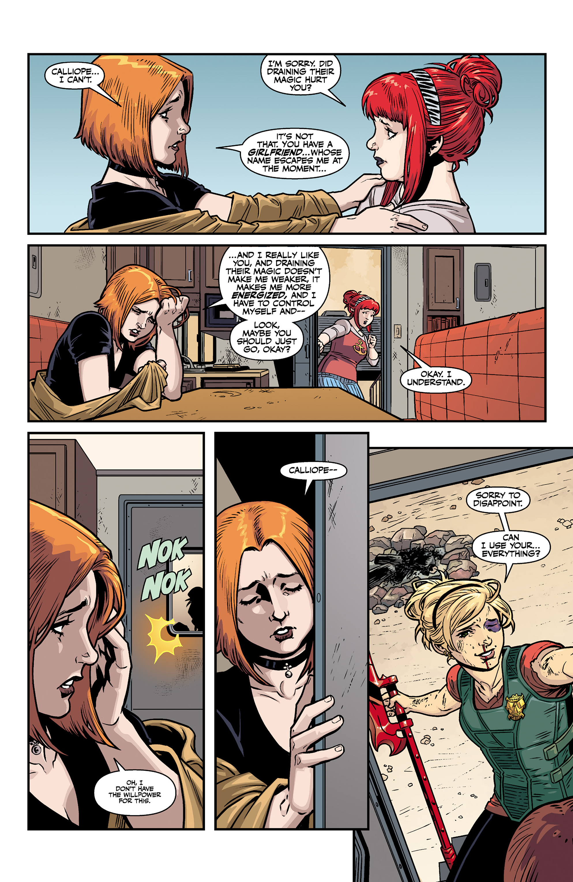 Read online Buffy the Vampire Slayer Season 11 comic -  Issue #6 - 13