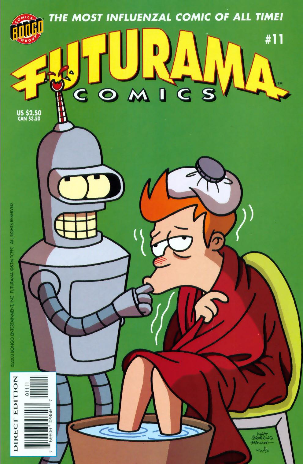 Futurama Comics issue 11 - Page 1