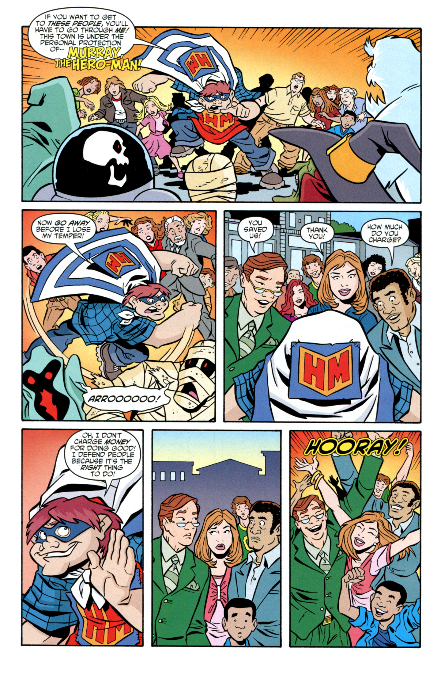 Read online Scooby-Doo: Where Are You? comic -  Issue #27 - 27
