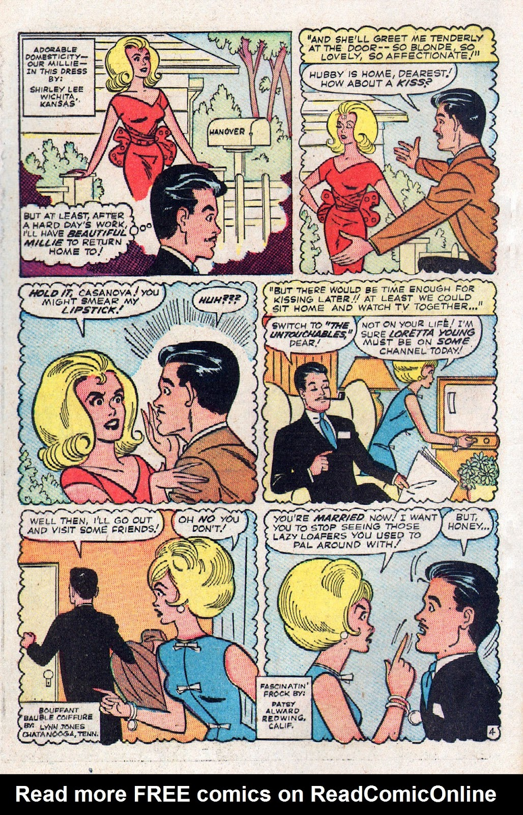 Read online Millie the Model comic -  Issue # Annual 2 - 54