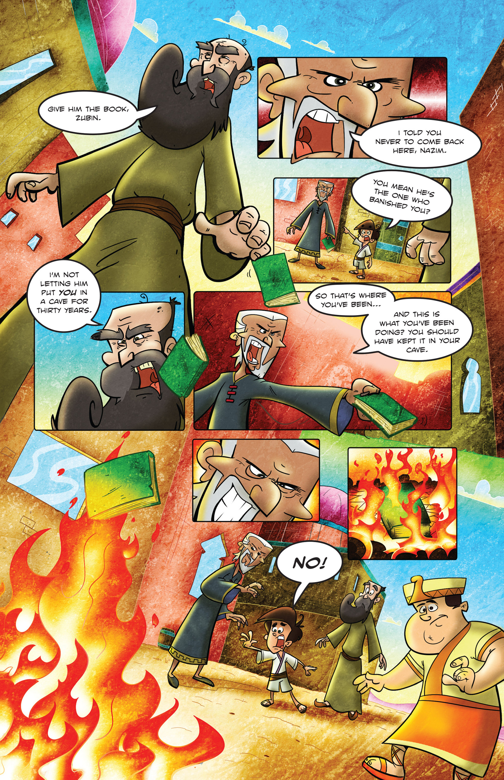 Read online 1001 Nights comic -  Issue #2 - 20