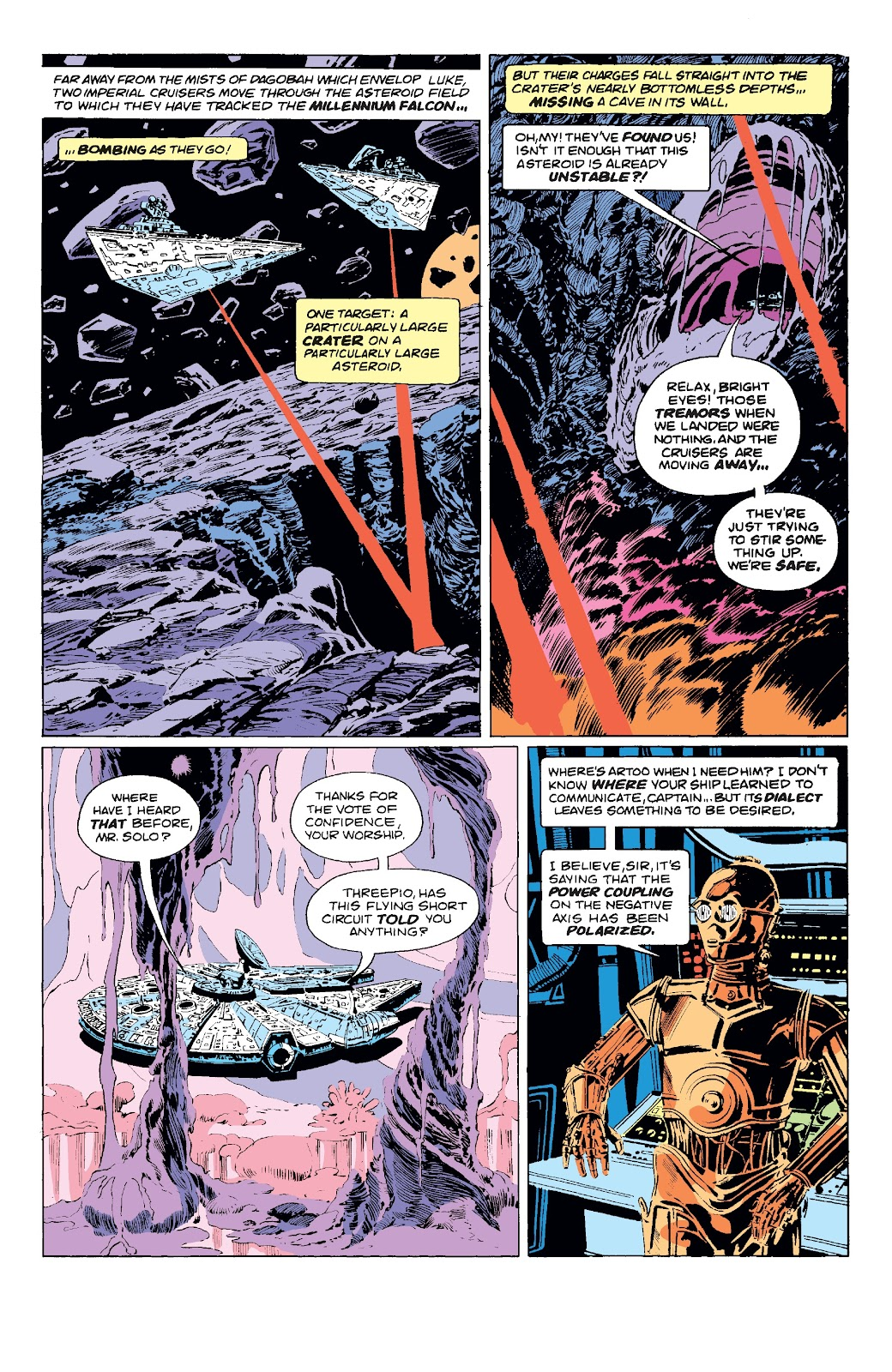 Read online Star Wars Legends: The Original Marvel Years - Epic Collection comic -  Issue # TPB 3 (Part 1) - 64