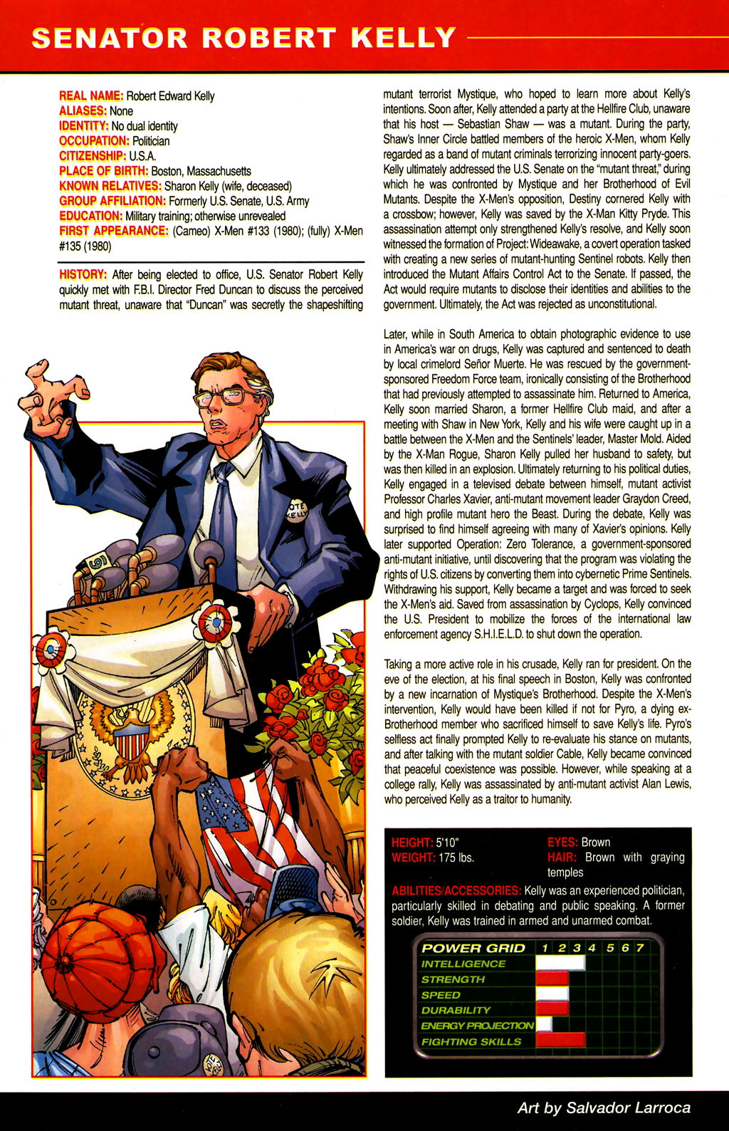 Read online All-New Official Handbook of the Marvel Universe A to Z comic -  Issue #6 - 12