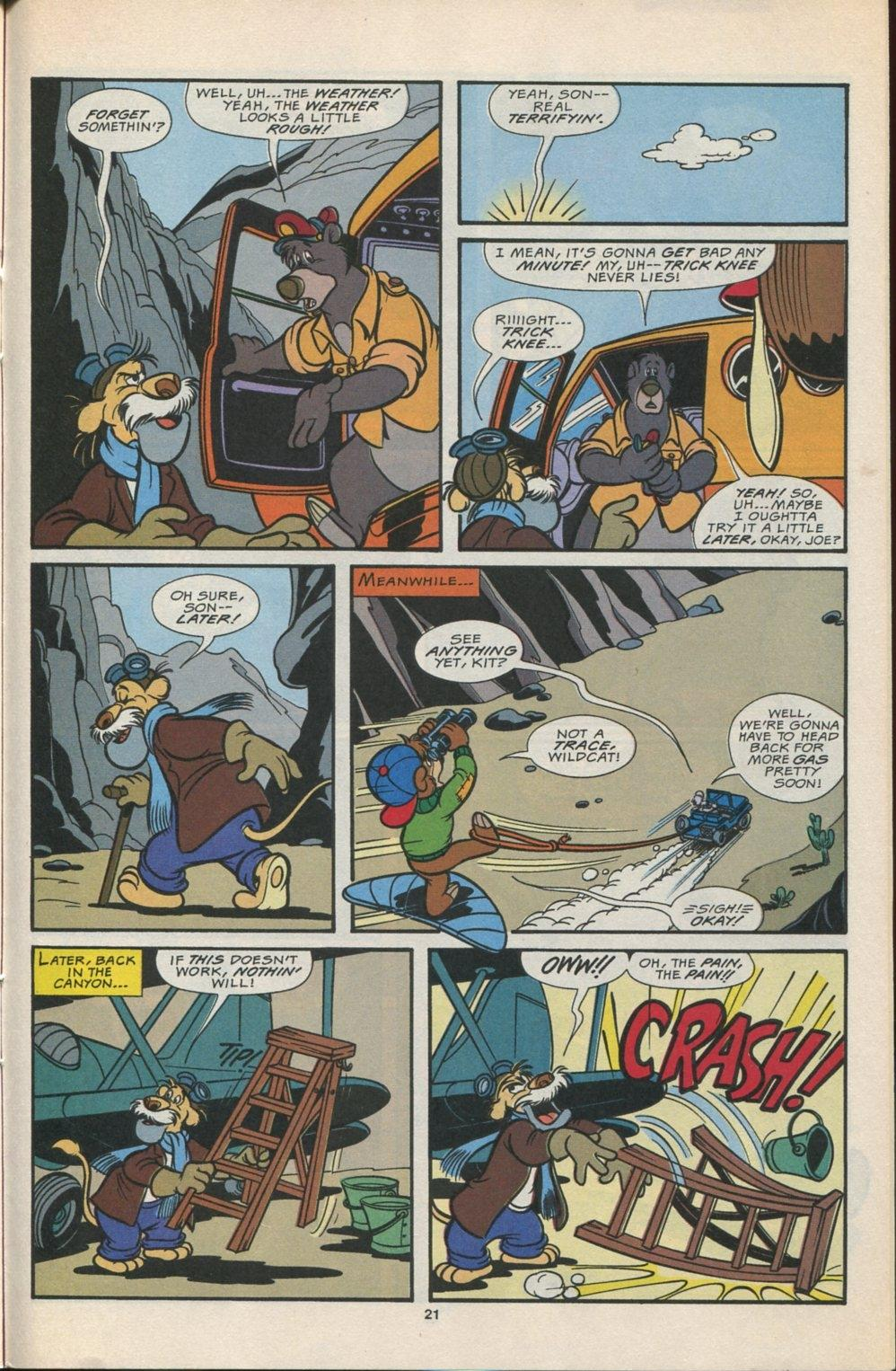 Read online Disney's Tale Spin comic -  Issue #5 - 22
