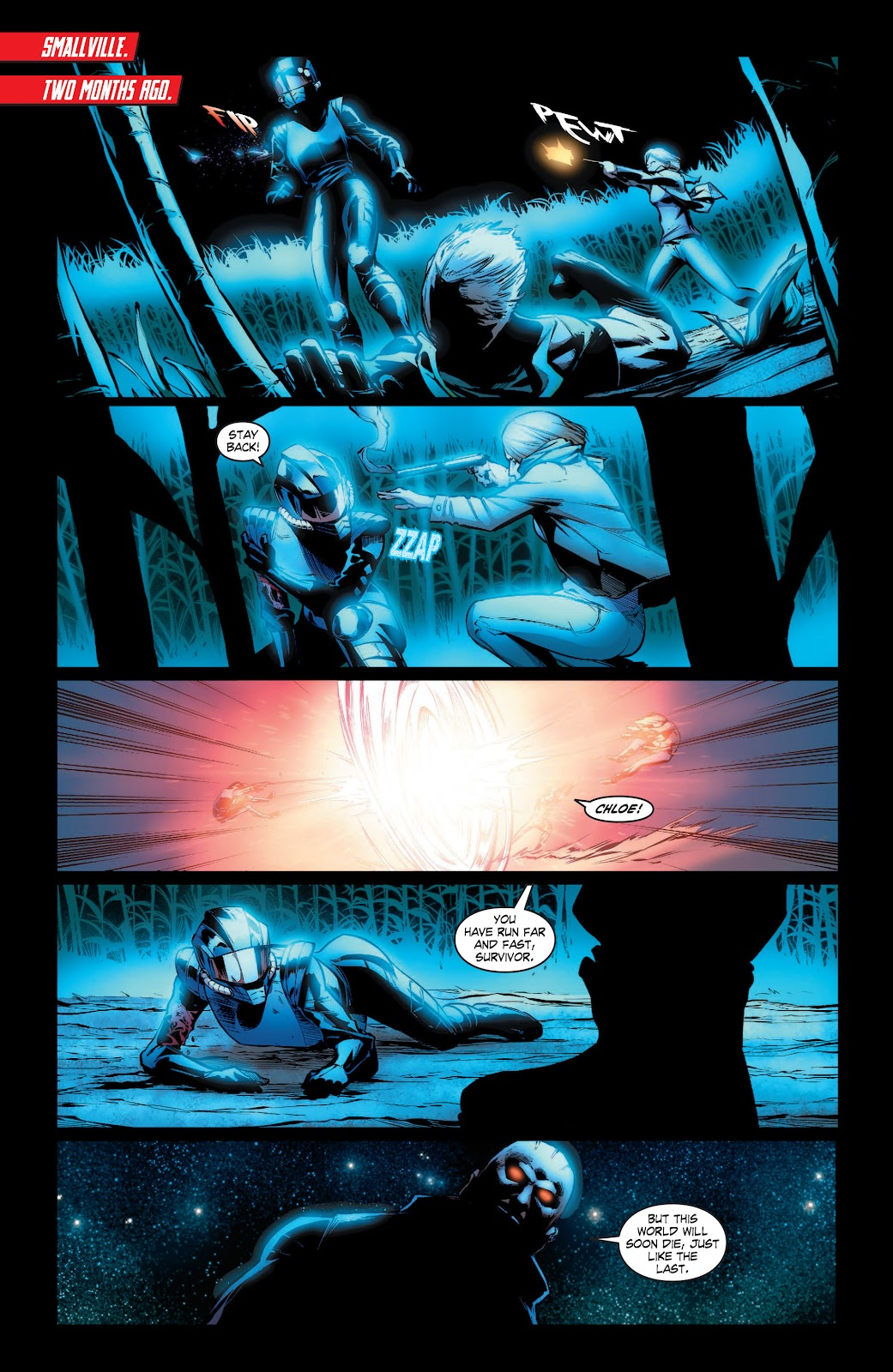 Read online Smallville Season 11 [II] comic -  Issue # TPB 3 - 118