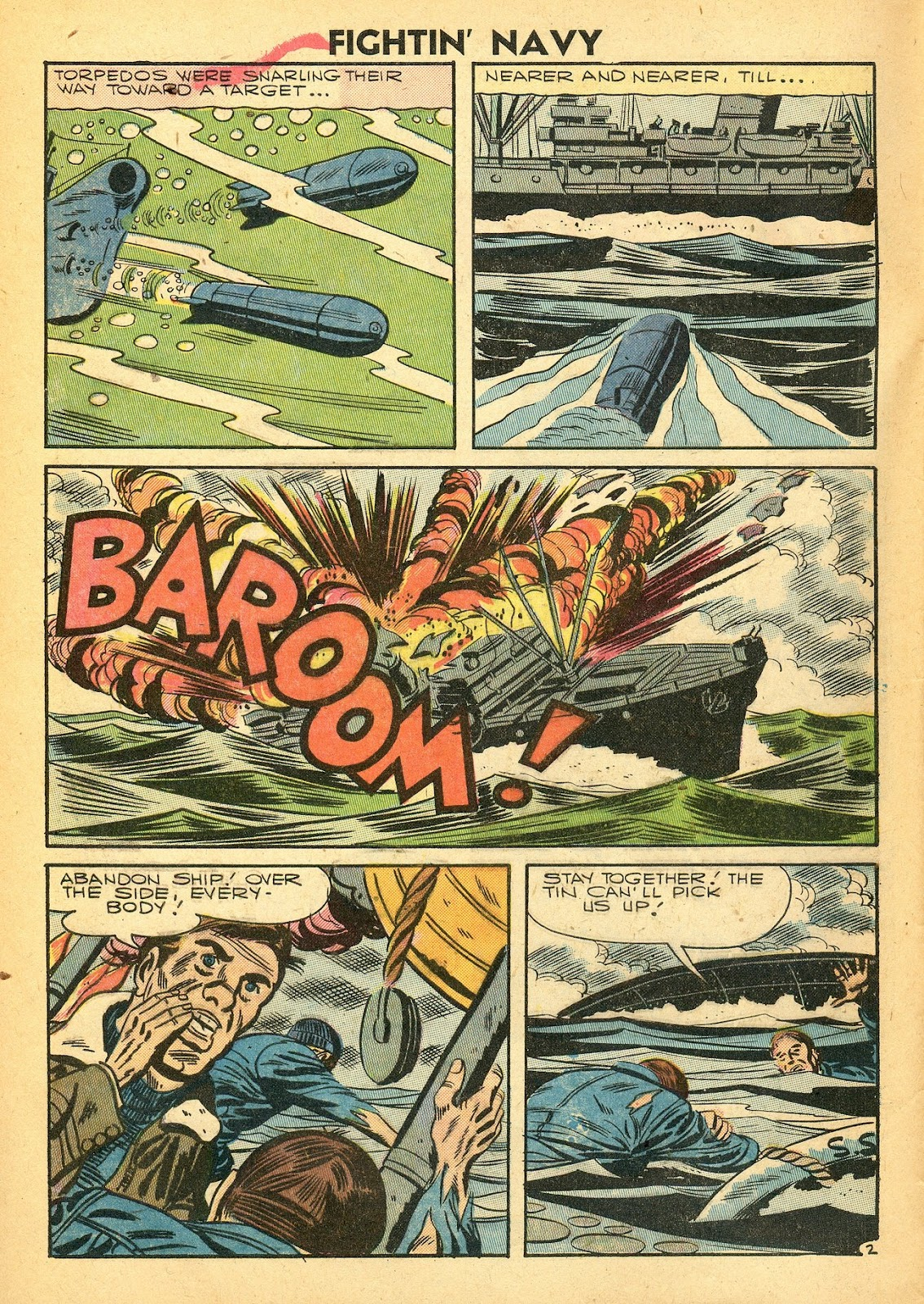 Read online Fightin' Navy comic -  Issue #77 - 4