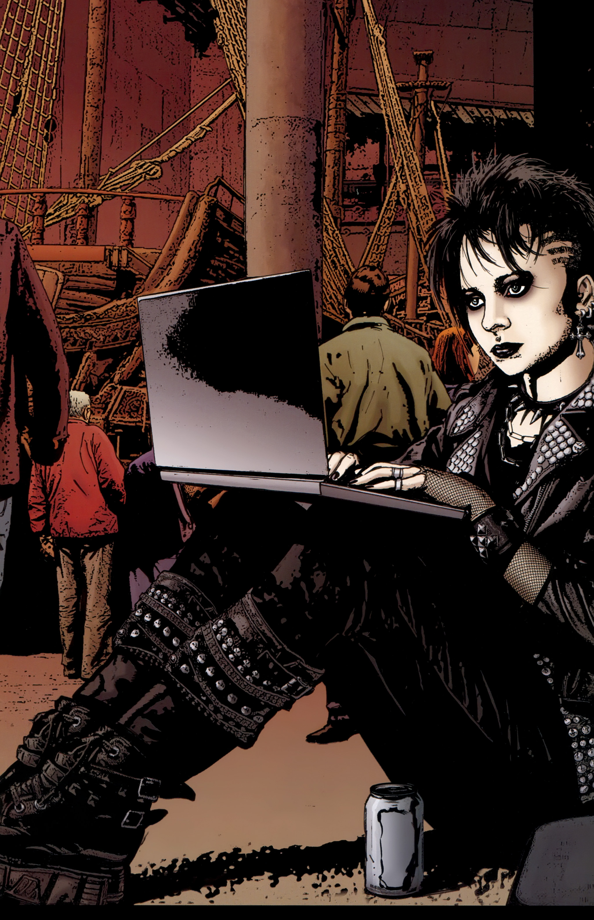 Read online The Girl With the Dragon Tattoo comic -  Issue # TPB 1 - 94