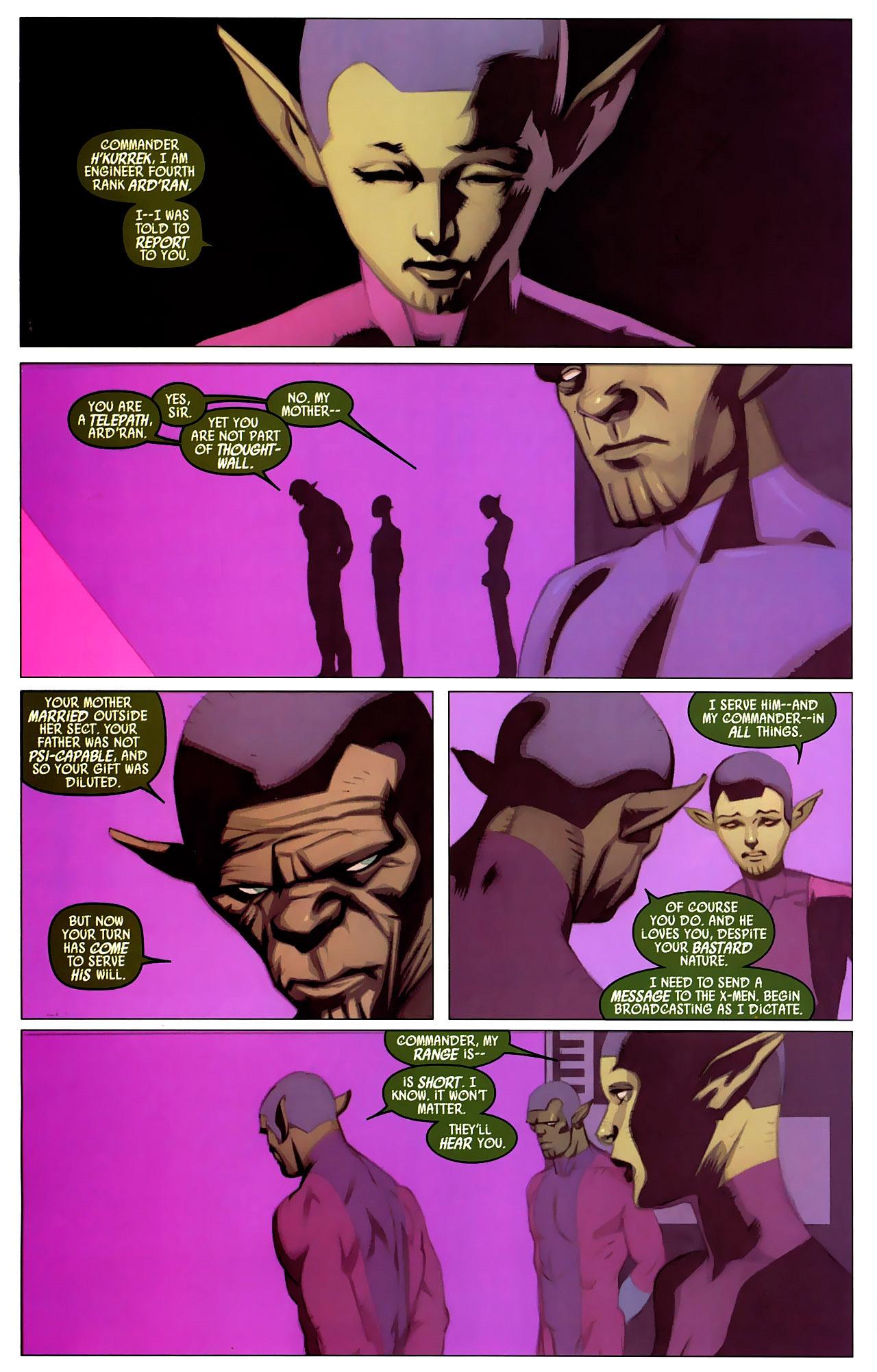 Read online Secret Invasion: X-Men comic -  Issue #4 - 3