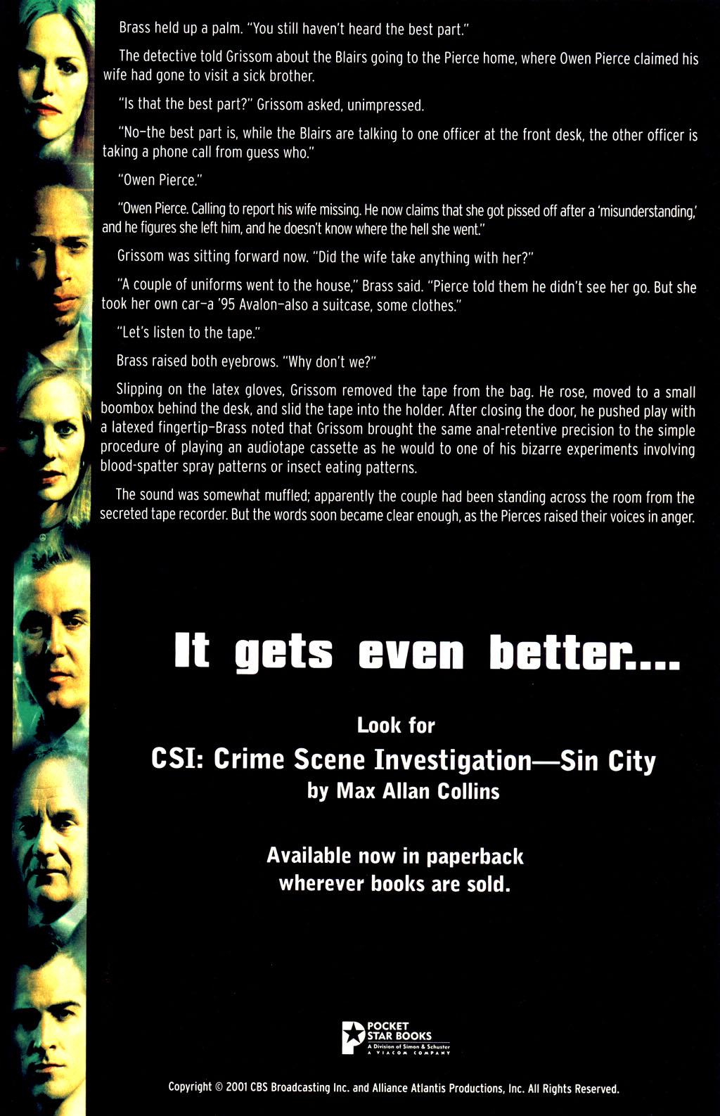 Read online CSI: Crime Scene Investigation: Bad Rap comic -  Issue #2 - 31