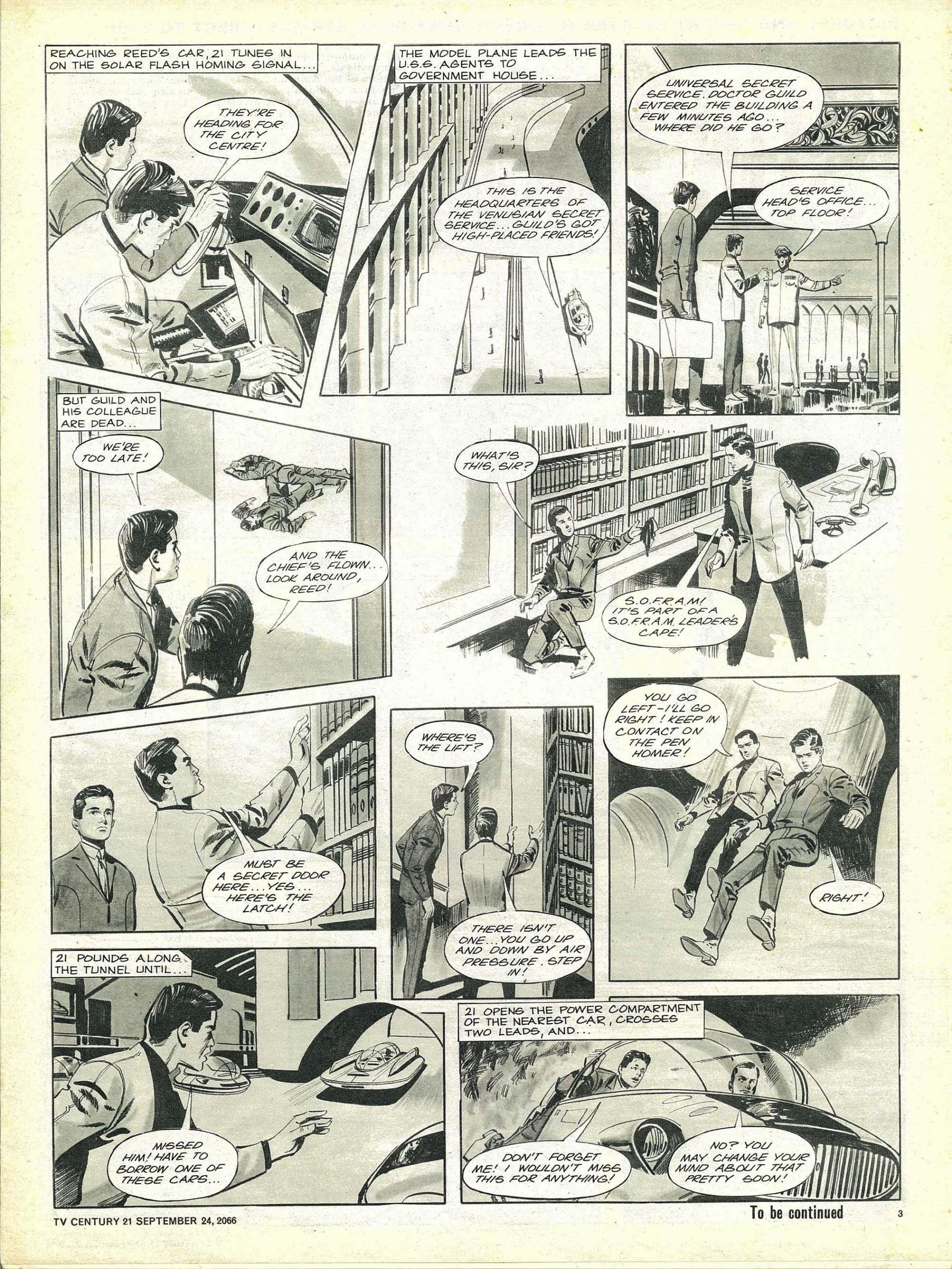 Read online TV Century 21 (TV 21) comic -  Issue #88 - 3