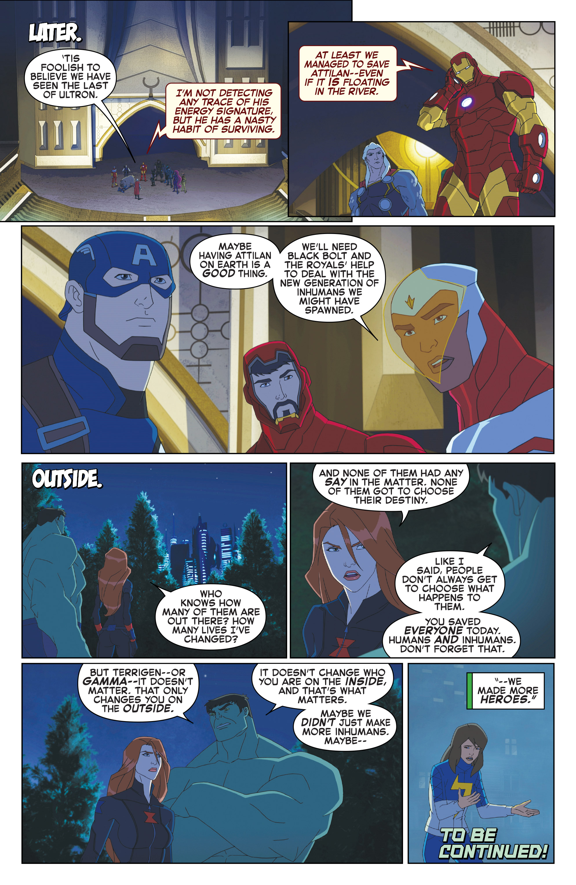 Read online Marvel Universe Avengers: Ultron Revolution comic -  Issue #10 - 22