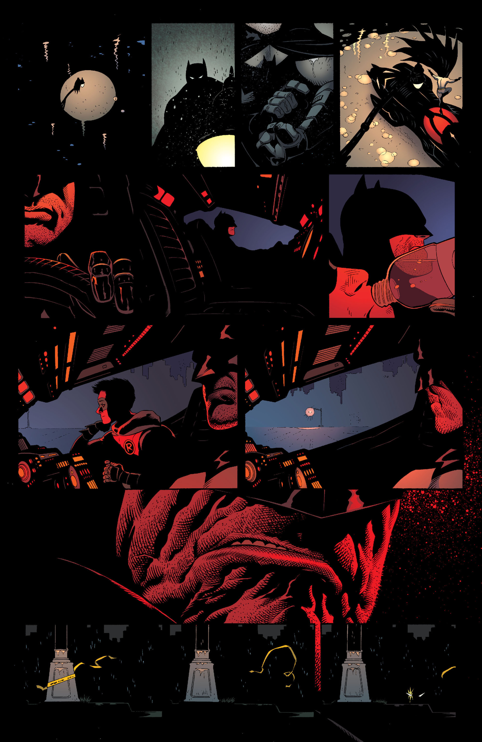 Read online Batman and Robin (2011) comic -  Issue #18 - 12