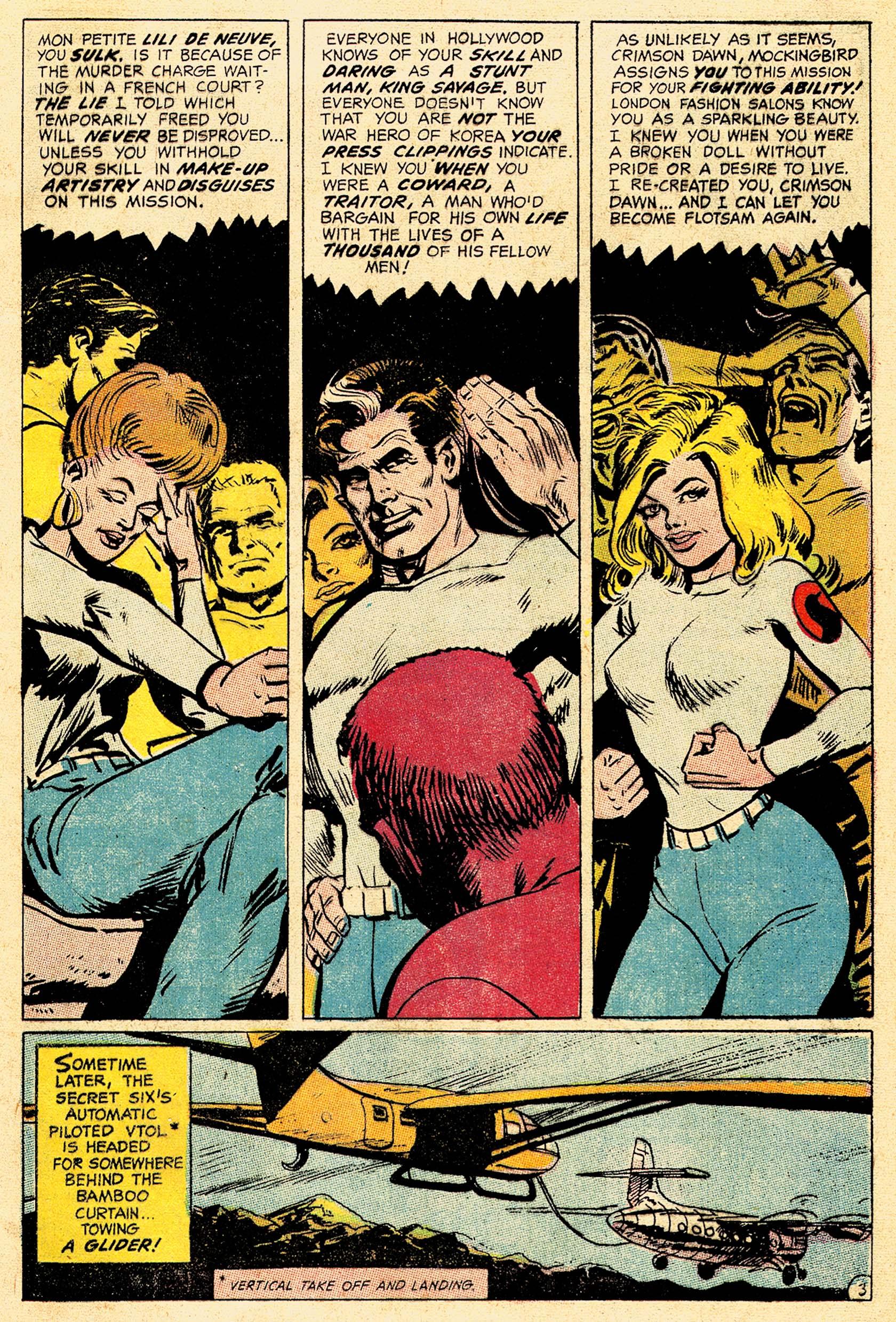 Read online Secret Six (1968) comic -  Issue #4 - 5