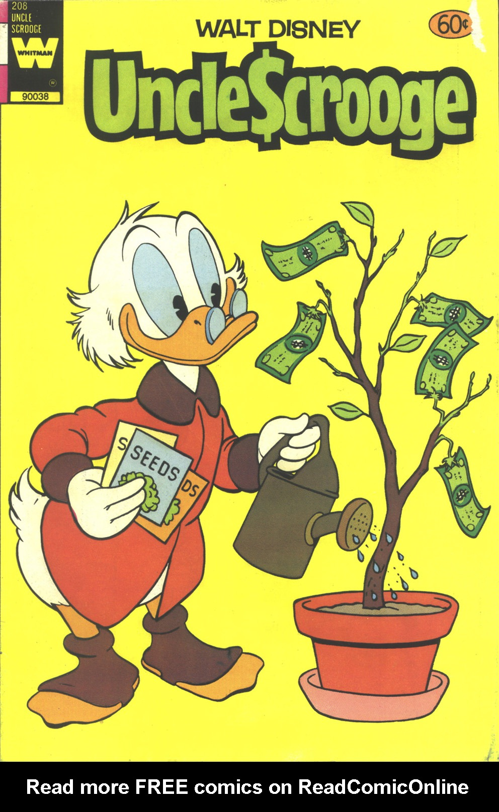 Read online Uncle Scrooge (1953) comic -  Issue #208 - 1