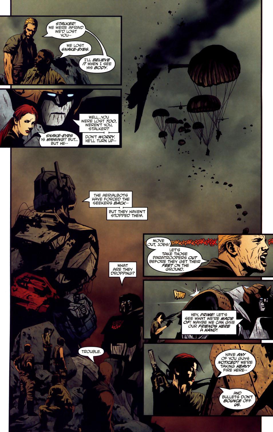 Read online Transformers/G.I. Joe comic -  Issue #3 - 8