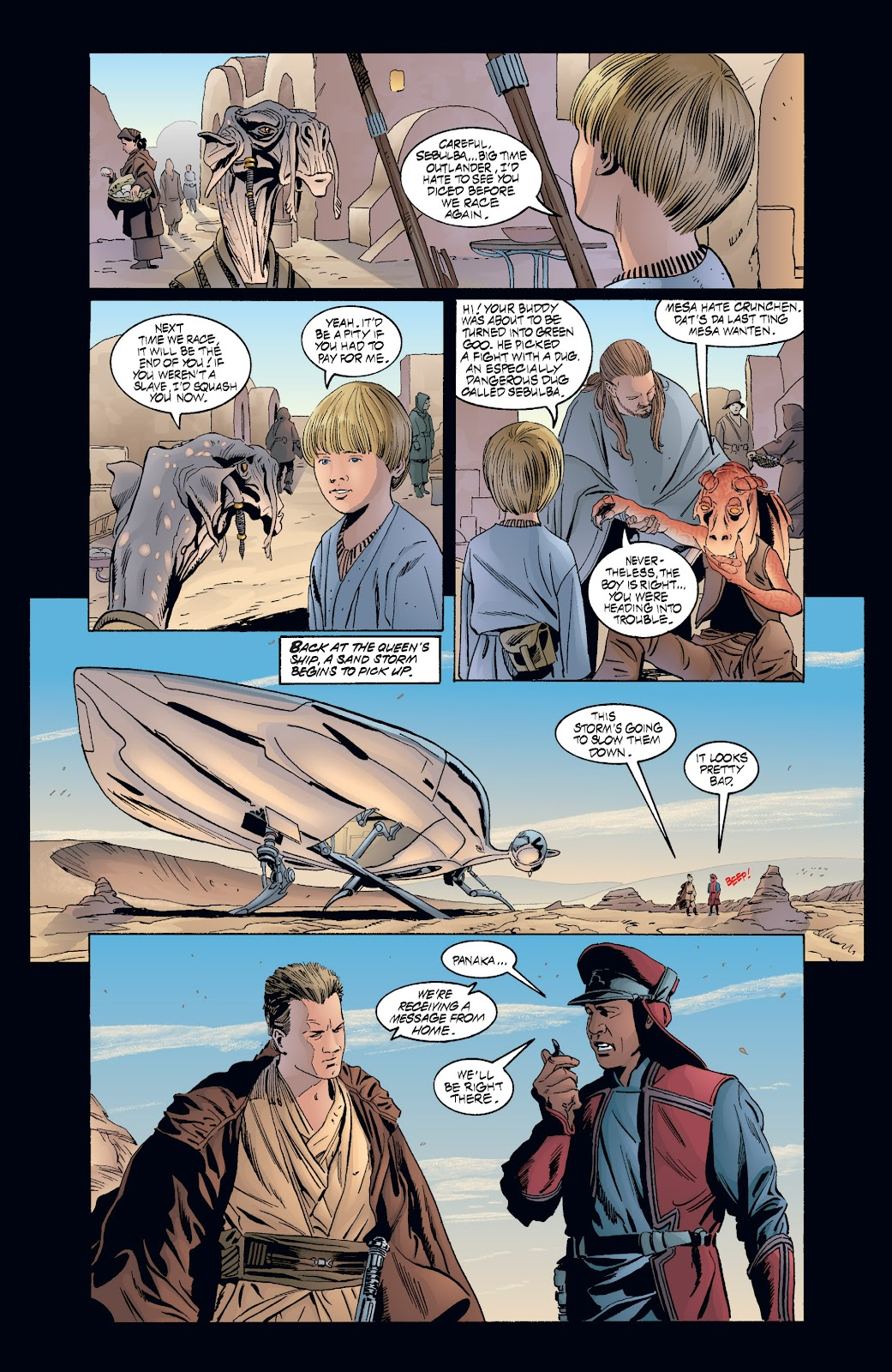 Read online Star Wars Legends: Rise of the Sith - Epic Collection comic -  Issue # TPB 2 (Part 3) - 71