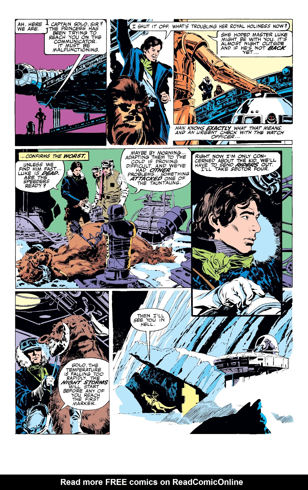 Read online Star Wars Legends: The Original Marvel Years - Epic Collection comic -  Issue # TPB 3 (Part 1) - 15