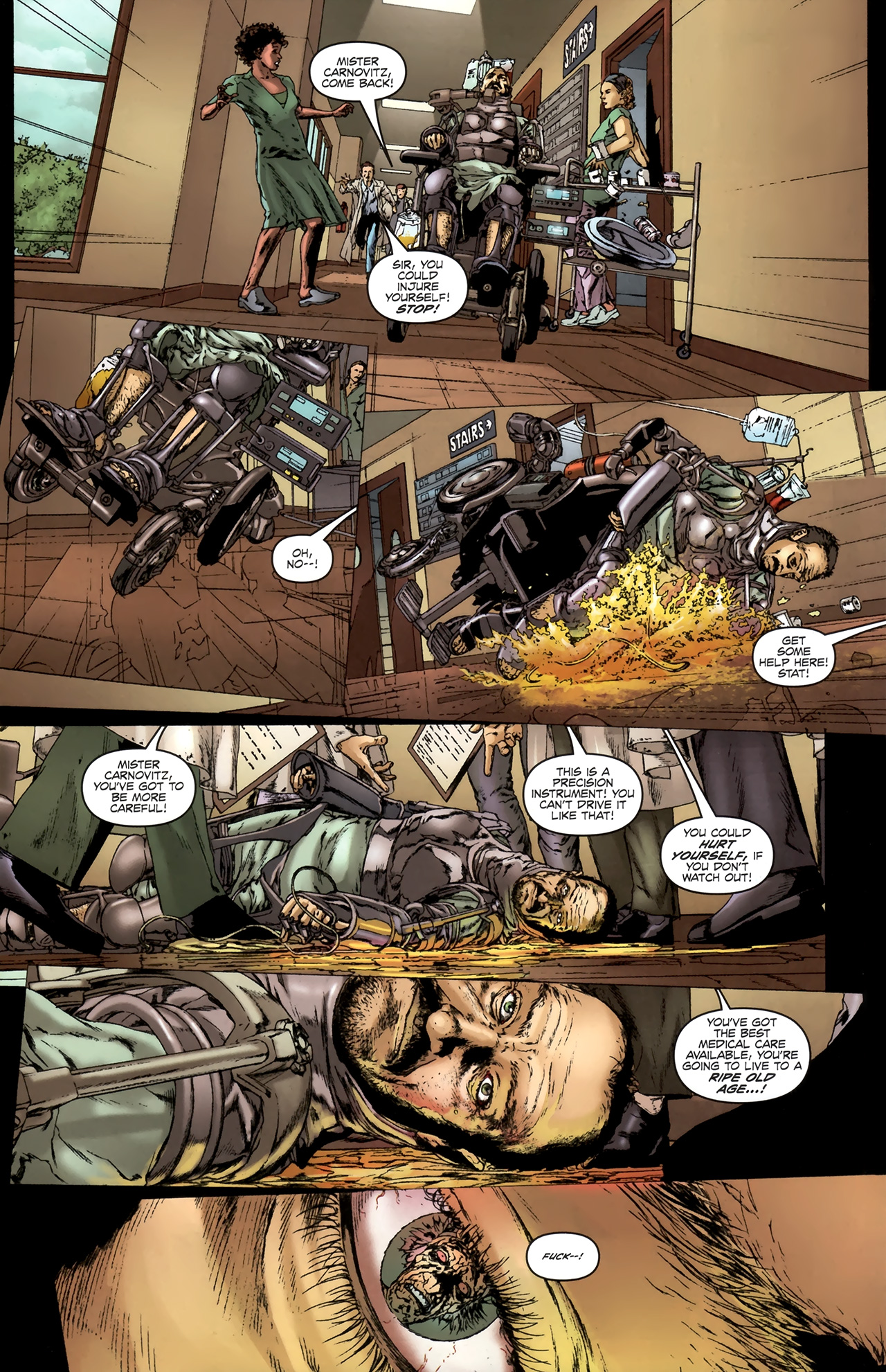 Read online Chronicles of Wormwood: The Last Battle comic -  Issue #6 - 25