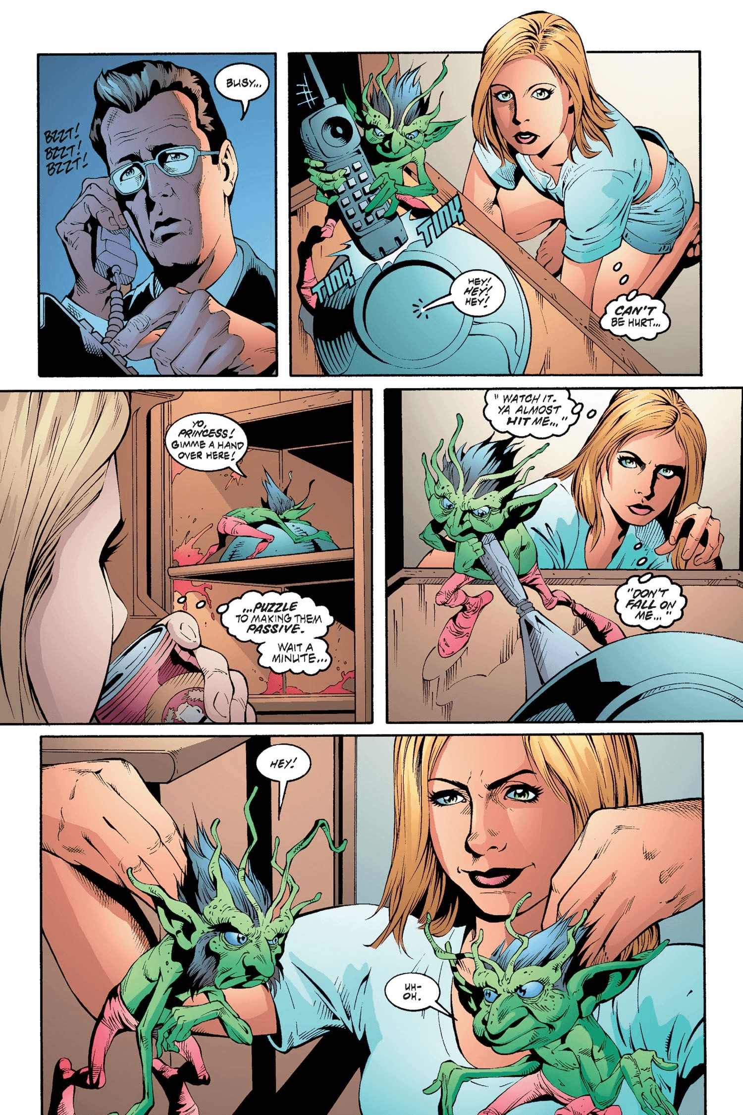 Read online Buffy the Vampire Slayer: Omnibus comic -  Issue # TPB 2 - 115