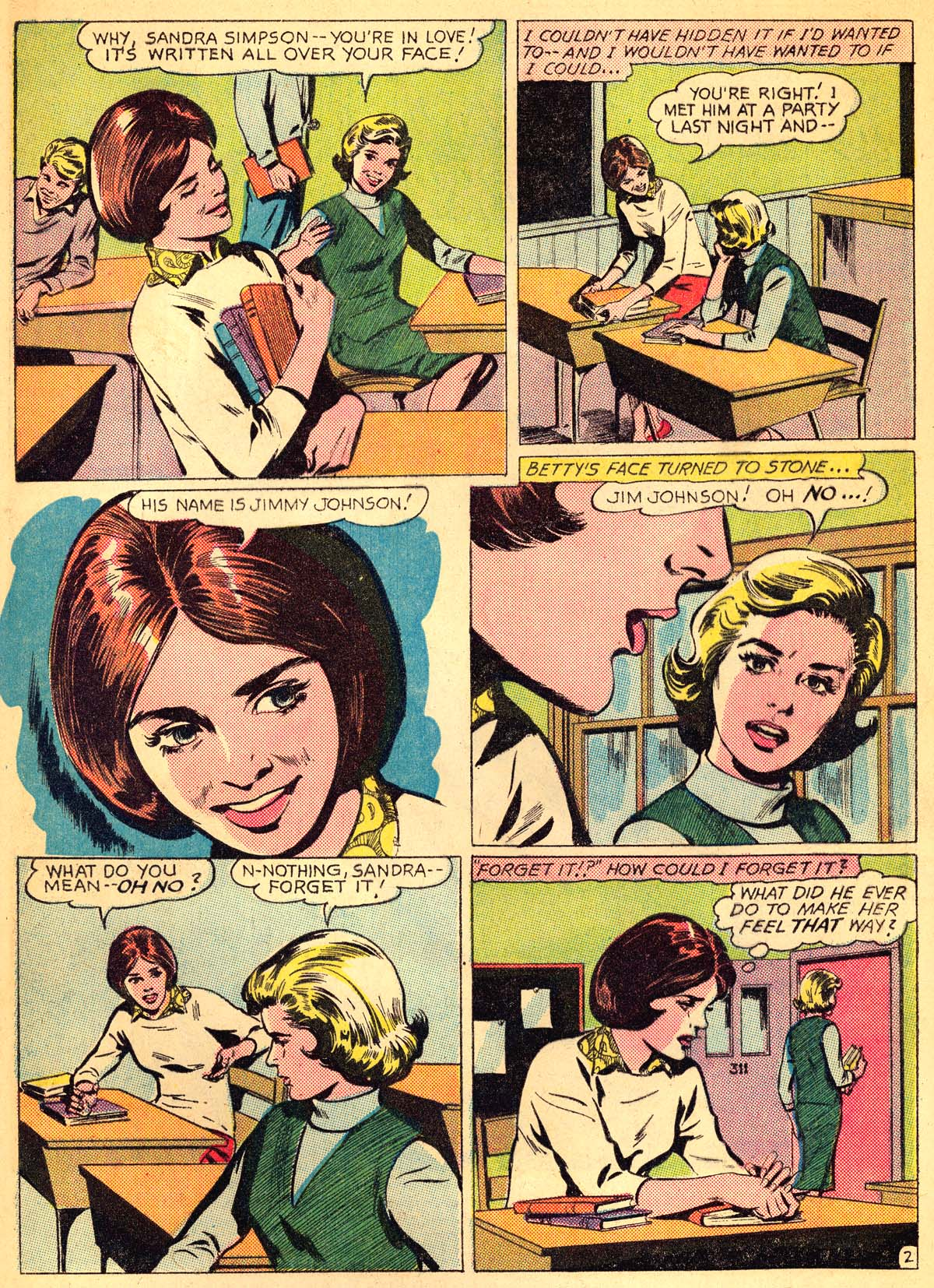 Read online Secret Hearts comic -  Issue #111 - 4