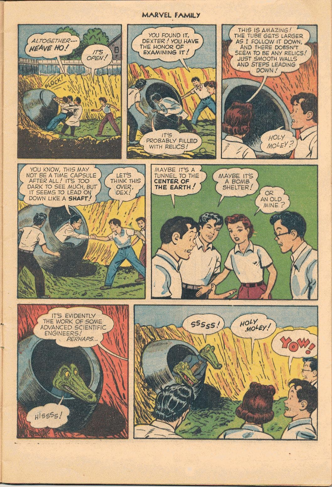 The Marvel Family issue 74 - Page 5