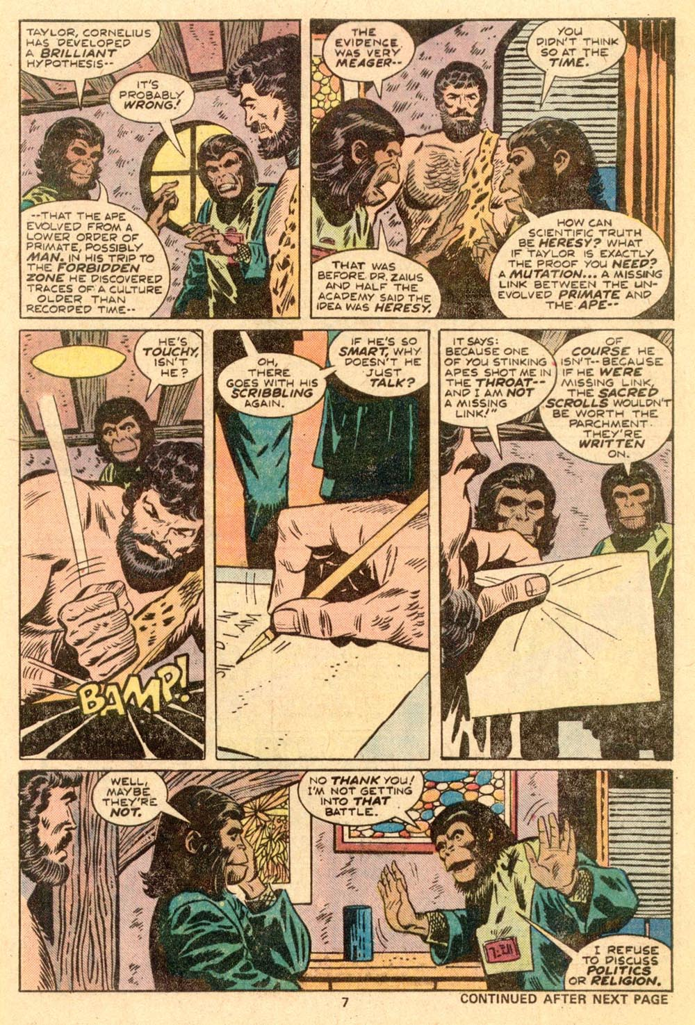 Read online Adventures on the Planet of the Apes comic -  Issue #3 - 6