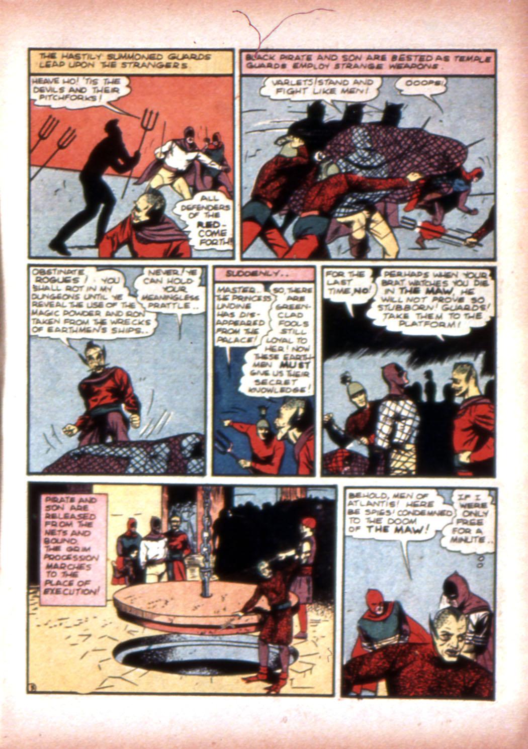 Read online Sensation (Mystery) Comics comic -  Issue #20 - 19