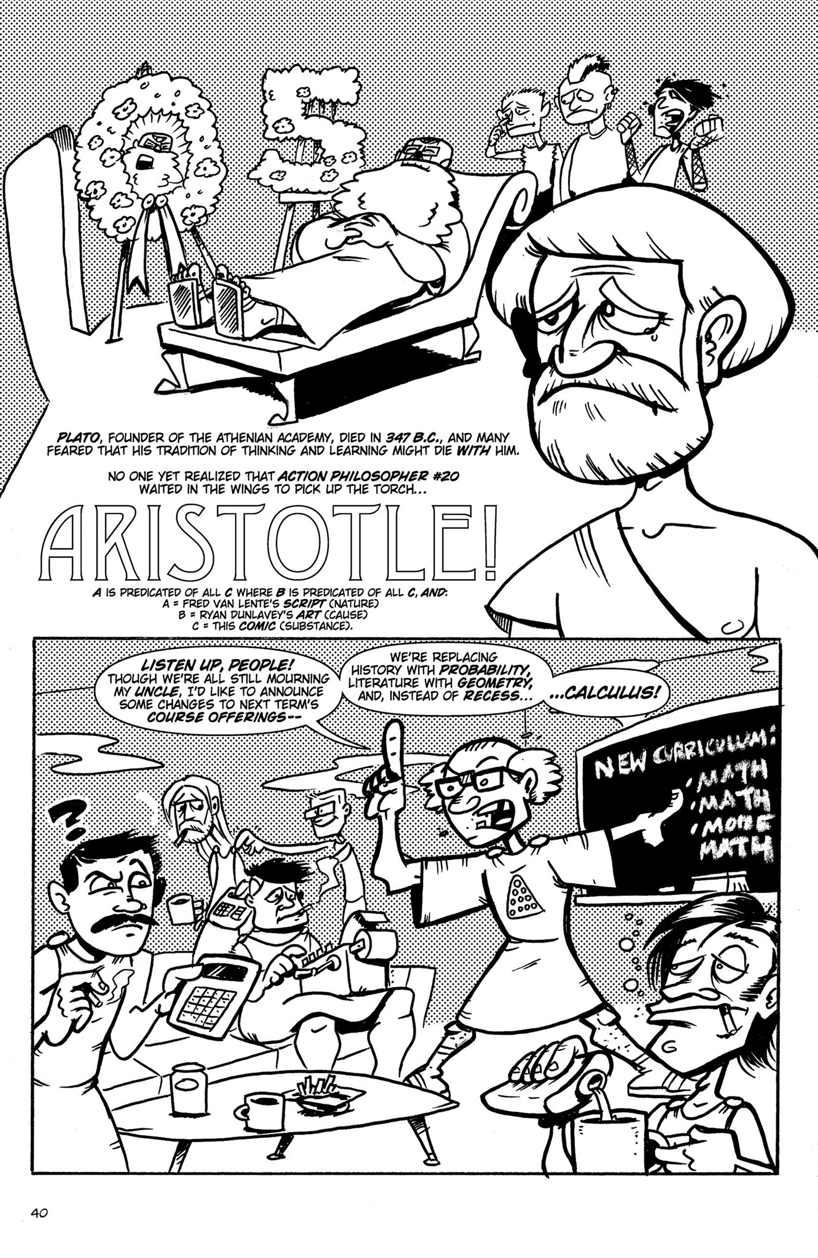 Read online Action Philosophers! comic -  Issue #Action Philosophers! TPB (Part 1) - 40