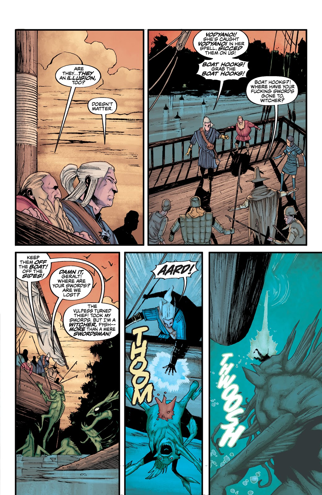 Read online The Witcher Omnibus comic -  Issue # TPB (Part 3) - 10